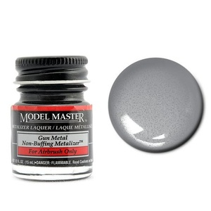 Model Master Metal No Buff Metallic 1/2 oz  #1423