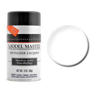 Model Master Metalizer No Buff Sealer 3 oz Lacquer Paint #1459