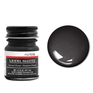 Model Master Gloss Black 17038 1/2 oz #1747