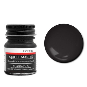 Model Master Flat Black 37038 1/2 oz Enamel Paint #1749