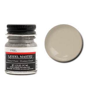 Model Master 1780 Steel 1/2 oz Enamel Paint Bottle