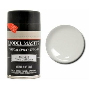 Model Master Gloss Gull Gray Spray Enamel Paint 1929 - 3 oz