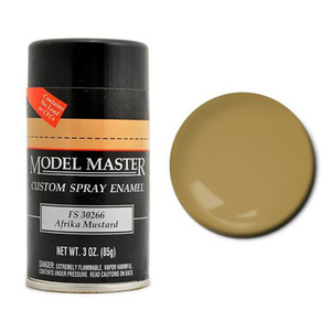 1955 Afrika Mustard Model Master Custom Enamel Spray Paint