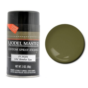 Testors Paint Model Master Enamel SAC Bomber Tan Spray FS34201 - 1992