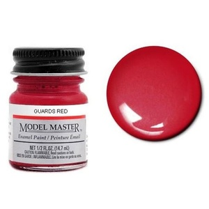Model Master 2718 Guards Red 1/2 oz Enamel Paint Bottle