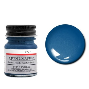 Engine Blue, Ford® & GM® Enamel Paint - Gloss 2727 - 1/2 oz. Bottle Enamel by Model Master