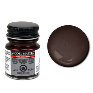 Model Master Dark Brown 1/2 oz -Enamel Paint - #2752