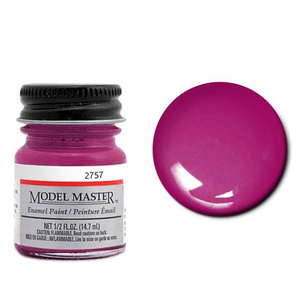 Model Master Panther Pink 1/2 oz Enamel Paint #2757