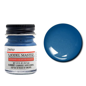 Engine Blue, Ford® & GM® - Gloss 28010 - 1/2 oz. Auto Lacquer Paint by Model Master