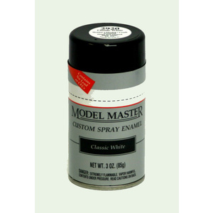 MODEL MASTER Spray Paint Classic White Enamel 3 oz 2920