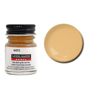 Skin Tone Tint Base Light Acrylic Paint - Flat 4601 - 1/2 oz. Bottle by Model Master