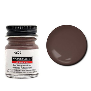 Burnt Sienna Acrylic Paint - Flat 4607 - 1/2 oz. Bottle by Model Master