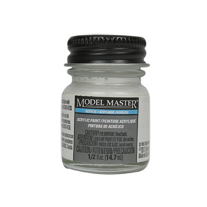 White - Semi-Gloss Acrylic Paint Primer 4622 - 1/2 oz.  by Model Master