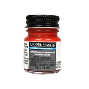 Chevy Engine Red - Gloss Acrylic Paint 4629 - 1/2 oz. Bottle by Model Master
