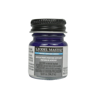 Deep Pearlescent Purple Acrylic Paint  - Gloss 4651 - 1/2 oz. Bottle by Model Master