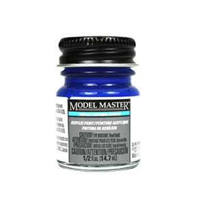 French Blue Acrylic Paint - Gloss 4659 - 1/2 oz. Bottle Acrylic by Model Master