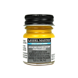 Chrome Yellow FS13538 - Gloss 4683 - 1/2 oz. Bottle Acrylic by Model Master