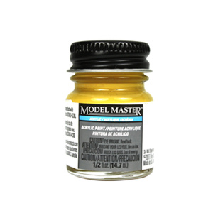 Gelb RLM 04 Acrylic Paint - Semi-Gloss 4771 - 1/2 oz. Bottle by Model Master