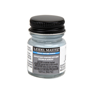 5-L Light Gray - Semi-Gloss Acrylic Paint 4863 - 1/2 oz. Bottle Acrylic by Model Master