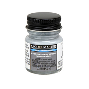 5-P Pale Blue Gray Acrylic Paint - Semi-Gloss 4864 - 1/2 oz. Bottle Acrylic by Model Master