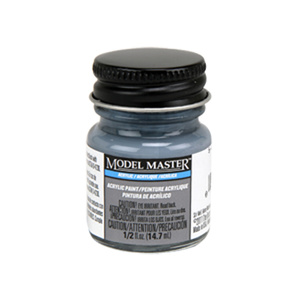 5-O Ocean Gray Acrylic Paint - Semi-Gloss 4866 - 1/2 oz. Bottle Acrylic by Model Master