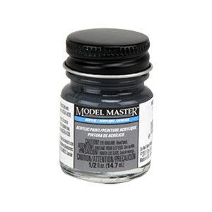 507-A Dark Gray R.N. Acrylic Paint - Semi-Gloss 4869 - 1/2 oz. Bottle Acrylic by Model Master