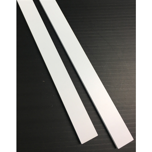 Evergreen, 2 Styrene Strip 600mm - 4.8 x 19.0mm 405