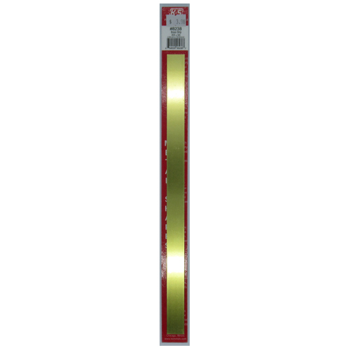 "KS Metals, Brass Strip 305mm - .025 x 3/4 x 12"" 1 Piece KS8238"
