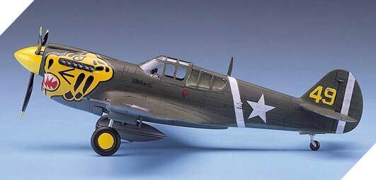 P-40E Warhawk 1:72 Academy #12468