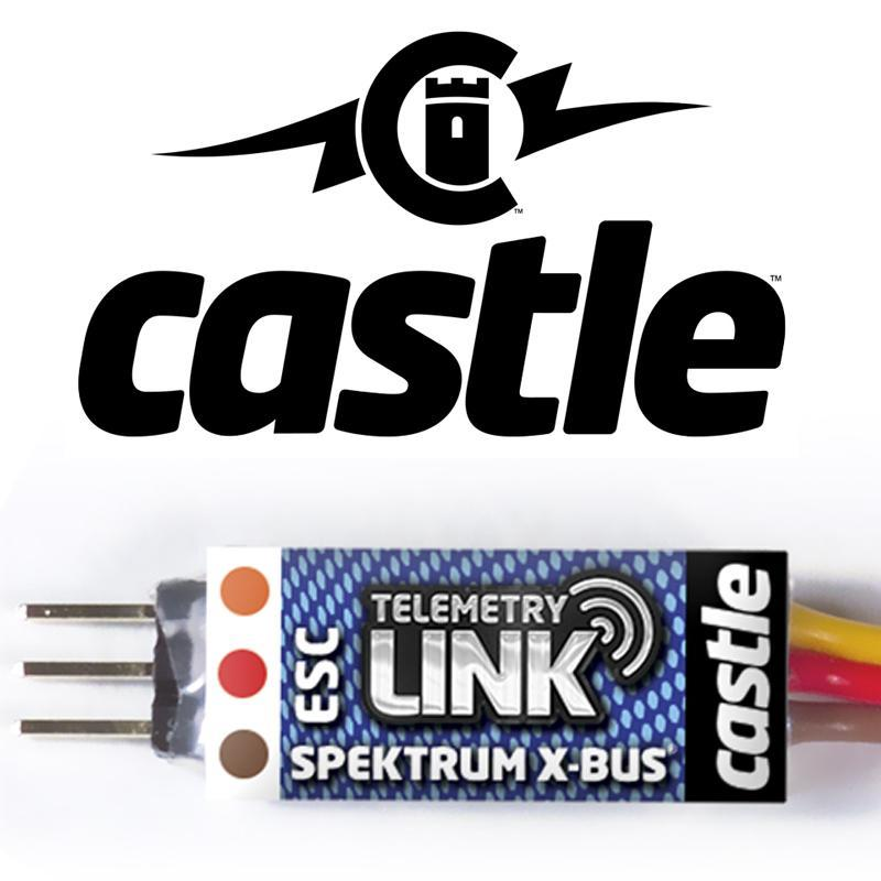 Castle X-BUS Spektrum Telemetry Link 010-0148-00 - CASTLE