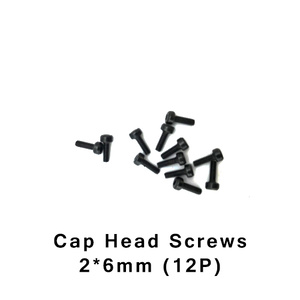 HBX S165 Screws 2x6mm Cap Head Screws 12 Pieces