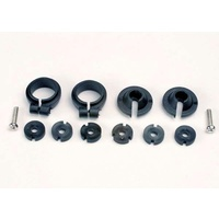 Traxxas 1965: Piston head set, (2 sets of 3 types)/ shock collars (2)/ spring retainers (2)
