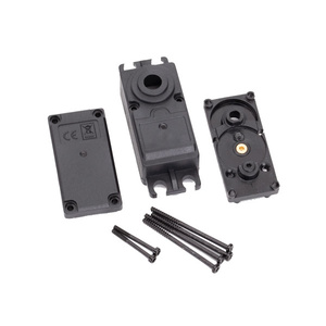 TRAXXAS 2251  Servo case, plastic (top, middle, bottom)/ gaskets/ hardware (for 2250, 2255 servos)