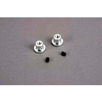 Traxxas 2615: Wing buttons (2)/ set screws (2)/ spacers (2)/ 3x8mm CS (2)