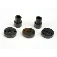 Traxxas 2669: Piston head set (Big Bore Shocks)