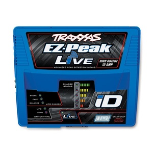 Traxxas 2971A: Charger, EZ-Peak Live, 100W, NiMH/LiPo with iD Auto Charge