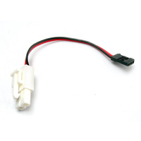 Traxxas 3029: Plug Adapter (For TRX Power Charger to charge 7.2V Packs)