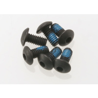 Traxxas 3347: Screws, 2.5x5mm button-head machine (hex drive) (6)