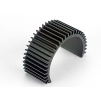Traxxas 3822: Motor heat sink (fined aluminum)