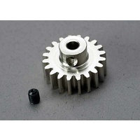 Traxxas 3950: Gear, 20-T pinion (32-p) (mach. steel)/ set screw