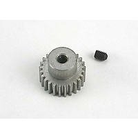Traxxas 4725: Gear, pinion (25-tooth) (48-pitch) / set screw