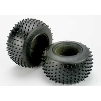 Traxxas 4790R: Tires, Pro-Trax spiked 2.2''