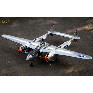 VQ Models P-38 Lightning 2100mm - 82.6in .46 Size ARF