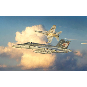 Italeri F/A-18 E SUPER HORNET 1:48 Scale Model #2791