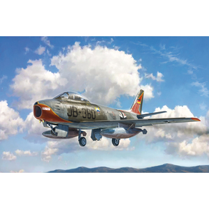 Italeri F-86E Sabre 1:48 Scale Model Jet #2799