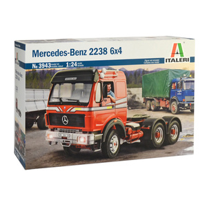 ITALERI #3943 - Mercedes Benz Model Truck 2238 6x4 1:24