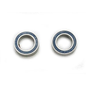 Traxxas 5114: Ball bearings, blue rubber sealed (5x8x2.5mm) (2)