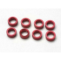 Traxxas 5133: Alum/Aluminum Pushrod/Push-Rod Spacers (8)