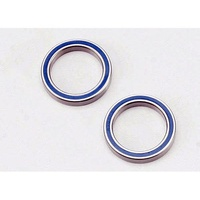 Traxxas 5182: Blue Rubber Sealed Ball Bearings (2) 20x27x4mm