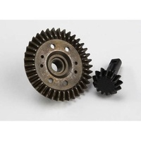 Traxxas 5379X: Ring gear, differential/ pinion gear, differential